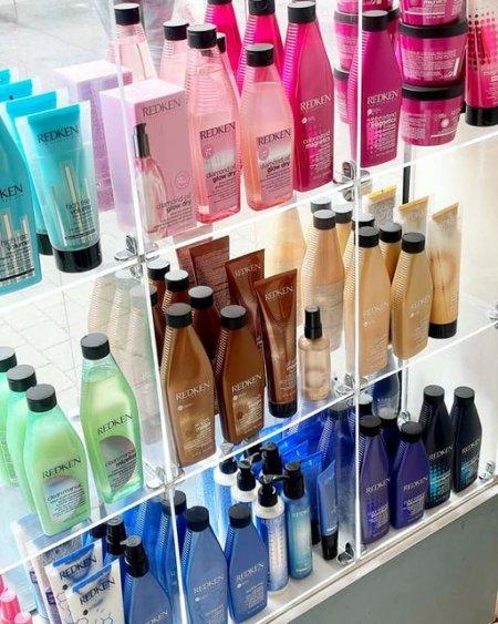 Redken product for sale at the klinik salon