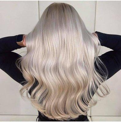 Frosty Ice Hair at the klinik salon London