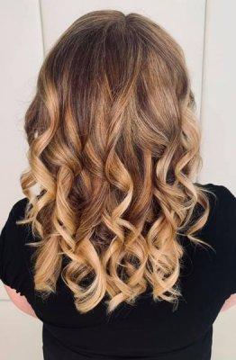 Hair resored with Olaplex