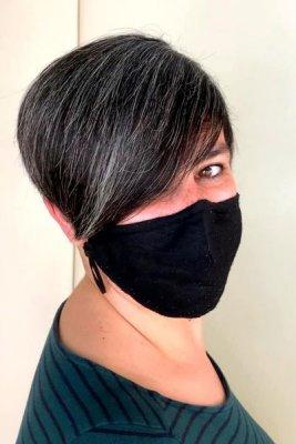 Short hair by Anna at the klinik salon