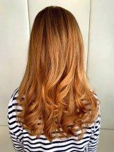 Copper hair